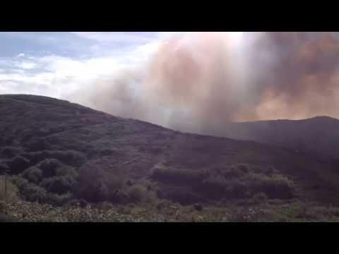 Incêndio no Cabo da Roca - 25 de Outubro de 2014