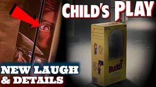 Child's Play (2019) Chucky's Laugh, Footage Description, & MORE
