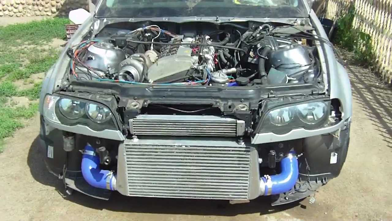 E46 M50 328ci Gt35turbo First Start Vems Electronic Youtube