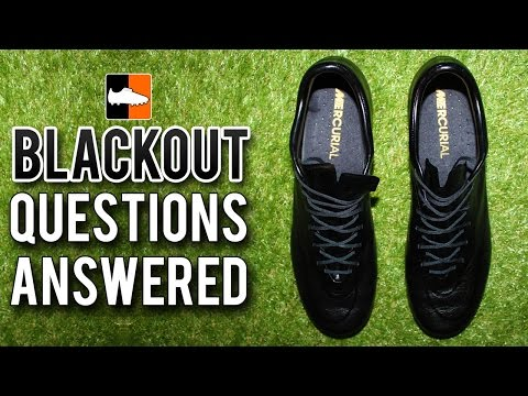 Why Blackout your Football Boots/Cleats? All Questions Answered