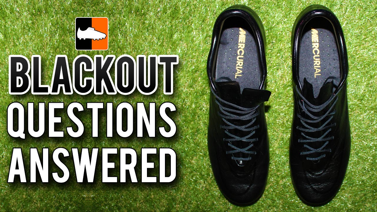7c0d787ec229 Why Blackout your Football Boots Cleats All Questions Answered ...