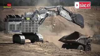 7. Excavator, Bulldozers, Crane - Máy xúc, Máy ủi, Cần cẩu ( KIDs TV)