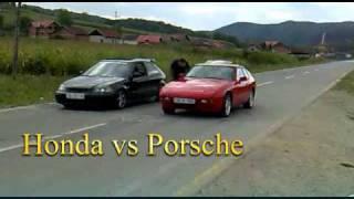 Honda Civic vs Porsche 924