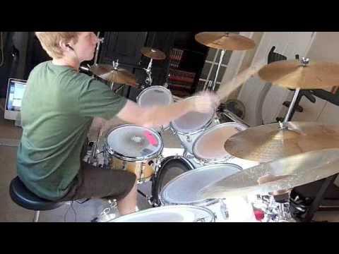 Falling Down Drum Cover - Atreyu