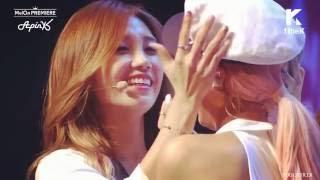 Apink Eunji and Bomi 93 Line (EunMi) Cute Moments 2015 - 2016