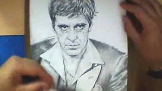 Al Pacino - Speed Drawing
