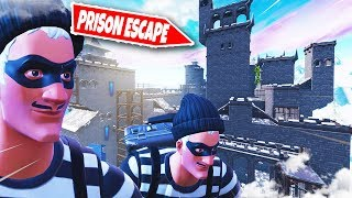 300IQ PRISON ESCAPE ROOM in Fortnite Creative ft. Gamemeneer (Nederlands)