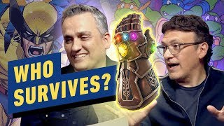 Which X-Men and Ninja Turtle Would Survive the Avengers' Russo Bros Snap?