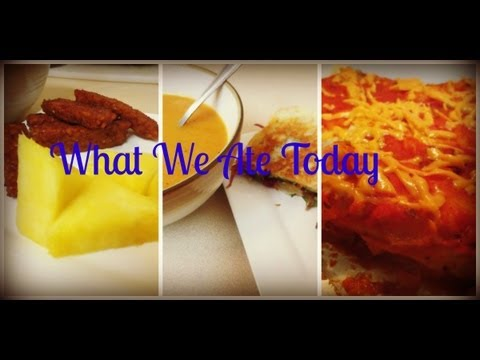 What We Ate Today #2---Vegan Family Meals | May 2013