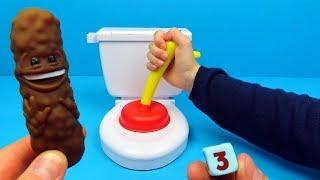Spel FLUSHIN FRENZY spelen | Family Toys Collector