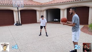 BASKETBALL 1v1 vs FaZe Rug! ($5,000 BET)