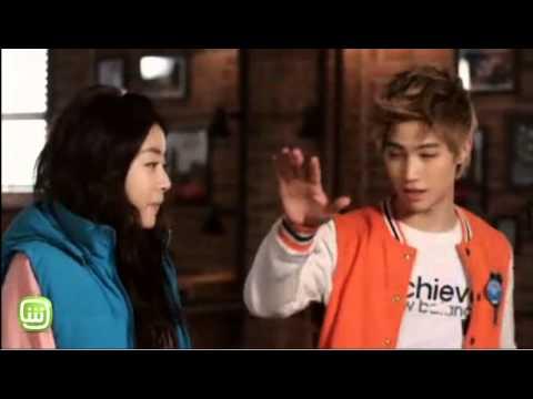Kang Sora and JB dream high 2 كنغ سورا و جي بي الجزء 2 من ح�