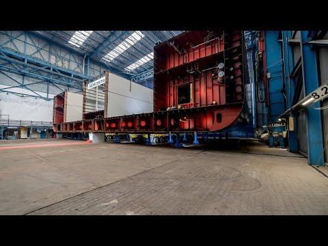 AIDAcosma: Kiellegung in der Neptun Werft