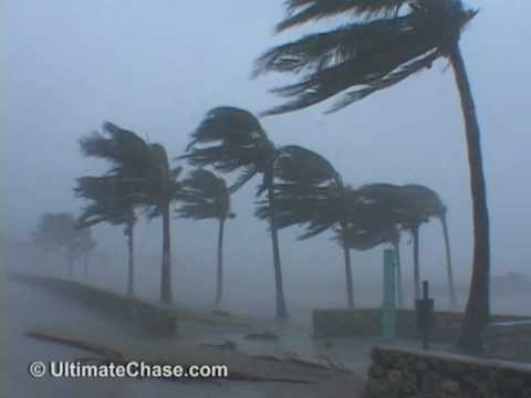Hurricane Wilma Video - Miami Beach, Florida video