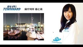 徳島の昼夜比較 : 徳島県庁を対岸からの動画説明