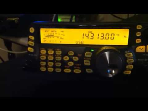 Pirate radio on 20m amateur band