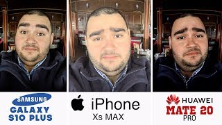 Samsung Galaxy S10+ vs iPhone Xs Max vs Huawei Mate 20 Pro | أفضل كاميرا موبايل في العالم ؟ !