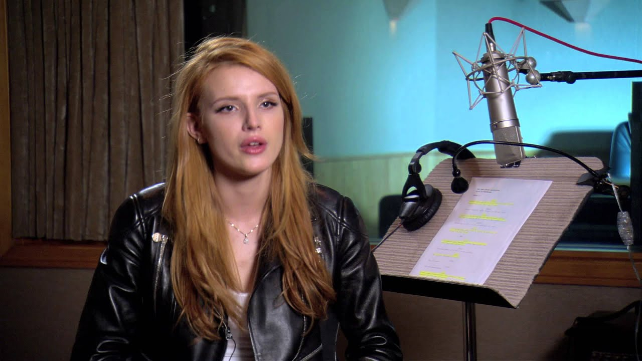 bella thorne singing