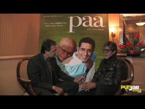 Amitabh Bachchan's Part 1 interview in Punjabi on PAA with Shingara Singh for Punjab2000.com