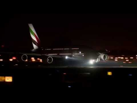 The world's first two-class Airbus A380 | Ferry Flight | Emirates Airline