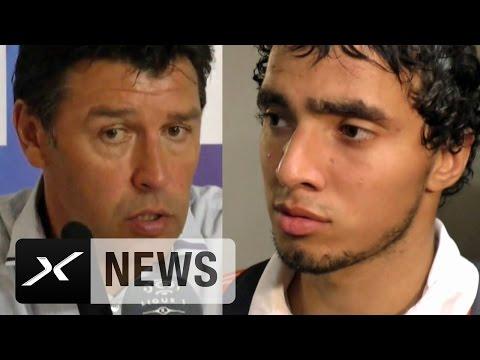 0:0 zum Auftakt: Ernüchterung bei Hubert Fournier und Rafael | Olympique Lyon - FC Lorient 0:0