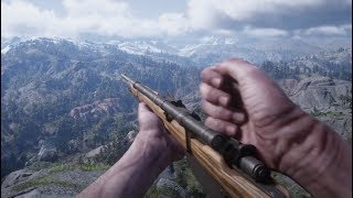 Red Dead Redemption 2 - All Weapons and Equipment (First Person) - Reloads , Animations and Sounds