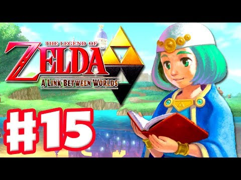 The Legend of Zelda: A Link Between Worlds - Gameplay Walkthrough Part 15 - Skull Woods (3DS)