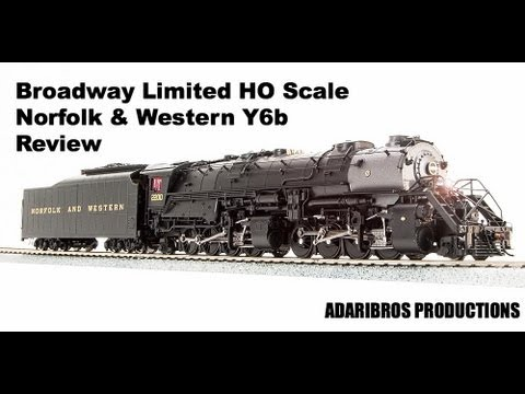 Review: Norfolk & Western Y6b 2-8-8-2 in HO BLI