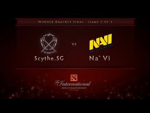 Scythe.SG vs NaVi Game 2 - Winner Bracket Finals - English Commentary - Dota 2 International
