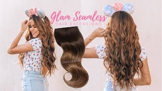 ♡ GLAM SEAMLESS Invisi-Clip Hair Extensions | ALEXIA ANAST