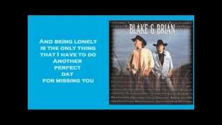 Watch Blake  Brian Another Perfect Day video