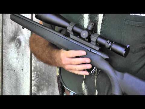 Shooting the Savage B-MAG 17 Winchester Super Magnum Rimfire Bolt-Action Rifle - Gunblast.com