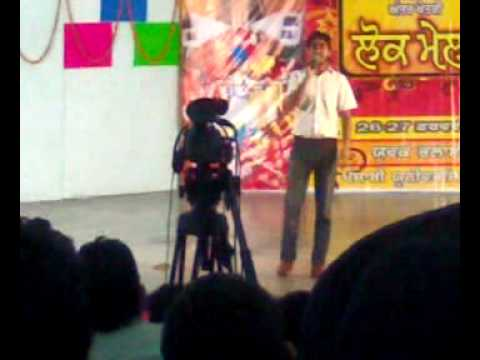 Kulwinder Billa In Punjabi University Patiala video