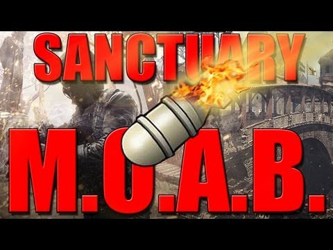 MW3: MOAB on Sanctuary (New Map DLC) Tips + Tricks