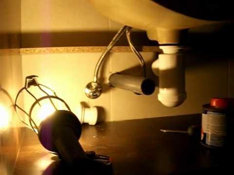 Instalar sif n en lavabo tipo botella youtube for Lavamanos sin instalacion