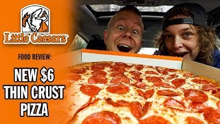 Little Caesars' $6 Thin Crust Pepperoni Pizza Food Review