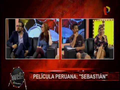 Entrevista A Actores De La Pelicula Peruana Sebastian En La Bateria