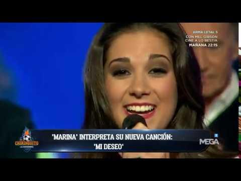 🎶🎶¡TEMAZO! Marina INTERPRETA 'MI DESEO' en #ElChiringuitoDeMega. ¡QUÉ ARTE! 🎶🎶