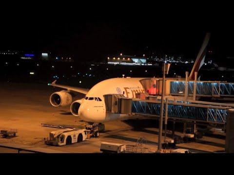 Emirates Airbus A380 / Brisbane to Dubai / Business Class