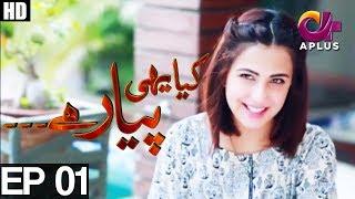 Yeh Ishq Hai-Kiya Yehi Pyar Hai-Episode 1| A Plus ᴴᴰ Drama |Shoiab Khan,Sameena Nazir,Rashid Khawaja