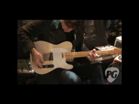 NAMM '10 - Fender Custom Shop Jim Campilongo Interview&Tele Demo