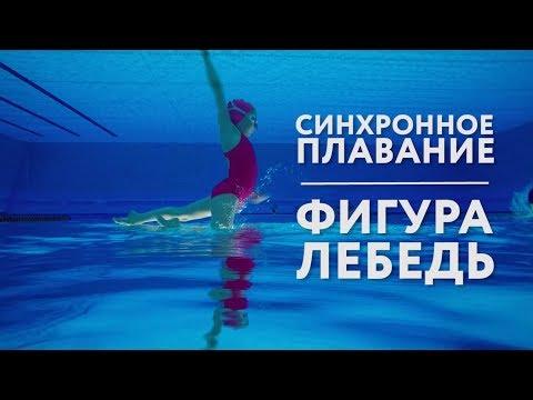 Синхронное плавание | Делаем фигуру «Лебедь»