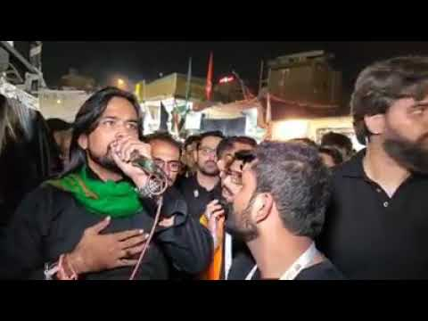 ???? Live Arbaeen 2019 Walk Najaf to Karbala | Noha Irfan Haider
