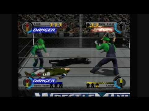 WWE Day of Reckoning 2 - The Luigi's vs. Darth Vader & Link Highlights + WM25 opinions