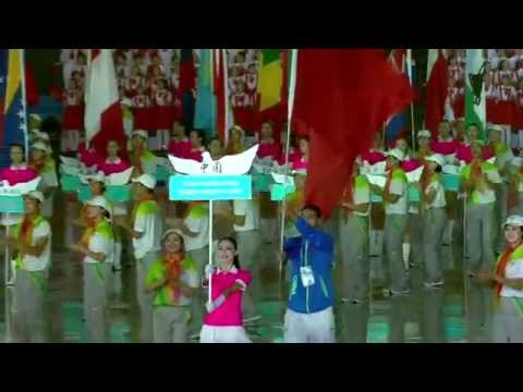 Opening Ceremony 2014 Youth Olympic Games Nanjing