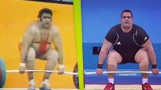 Olympic Weightlifting Champions 1976-2012. Super Heavyweight \ Олимпийские Чемпионы Тяжелая Атлетика
