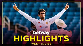 Highlights   West Indies v Pakistan   2nd Test Day 4   Betway Test Series presented by Osaka