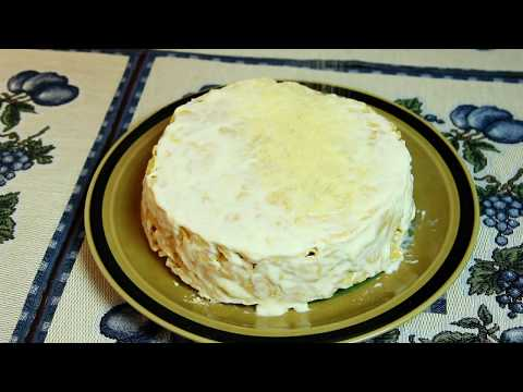 Торт наполеон рецепт без коржей - ТАКОГО НЕТ НА YouTube