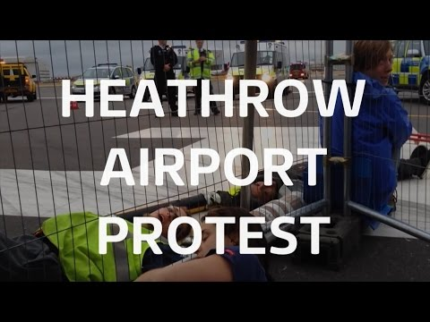 Daily dose: Heathrow protest, Primark siege and Mexico escape