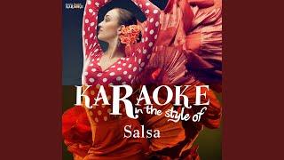 Lagrimas Negras Karaoke Version
